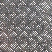 Алюминий рифленый 4 мм Резка в размер. Доставка. Большой выбор. фото