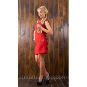 Платье красное Павлин Платья для коктейля фото