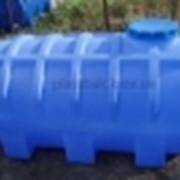 Емкость для воды горизонтальная 1000 л фото