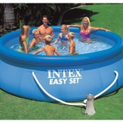 Бассейн надувной INTEX EASY SET 366х91 (с картриджным фильтром) фото