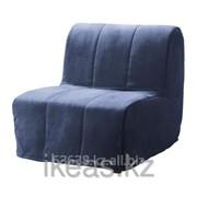 Кресло-кровать, Хенон синий ЛИКСЕЛЕ фото