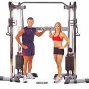 Профессиональный тренажер Body Solid Боди Солид GDCC200 Кроссовер фото