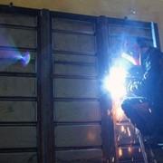 Ворота (двери) откатные крытого вагона фото