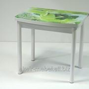 Стол обеденный Дублин-СТ ПО, цвет белый фото