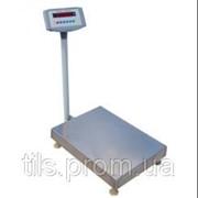Товарные напольные весы до 150 кг Ягуар 015 w 600х450 ics фото