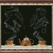 Набор для вышивания крестиком Чайная фантазия 1 фото