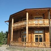 Деревянные дома. фото