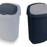 Пластмассовaя корзина для мусора фото