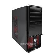 Корпус ProLogix A07B/7030 Black PBS-500W-12cm w/Red LED Fan фото