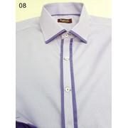 Рубашка мужчкая в стиле Casual p08 фото