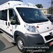 Заказ автобус Пежо Боксер фото