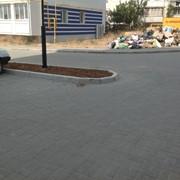 Укладка тротуарной плитки (ФЭМ) фото