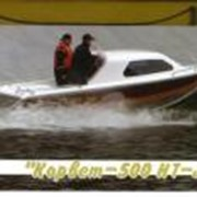 Катер Корвет 500 НТ JET (водомёт) фото