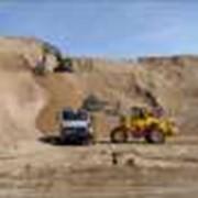 Сыпучие строительные материалы, Инертные материалы, песок, грунт, дресва, отсев, щебень. фото