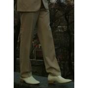Кожаные белые туфли итальянского бренда Bolanbo (45 размер) фото