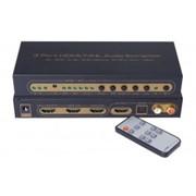 Конвертер Switch 3x1 Port HDMI/MHL With Audio Extractor 4K фото