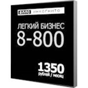 Тарифный план Легкий бизнес 8-800 СПб фото