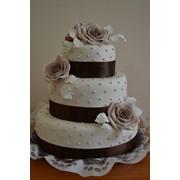 Торт весільний 7 фото