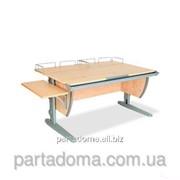 Стол универсальный трансформируемый СУТ.15-02 клен/серый фото