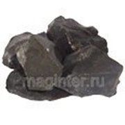 Кремень кремний черный, темно-серый, фракция 5-20 мм, 5 кг фото