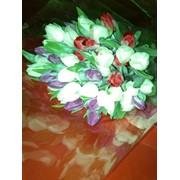 Букеты из тюльпанов фото