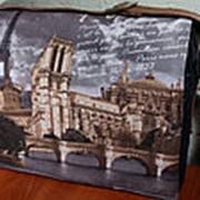 """Сумка для ноутбука 18"""". Париж фото"""