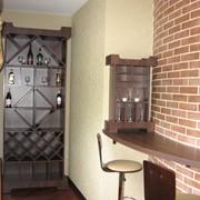 Мебель для винной комнаты фото