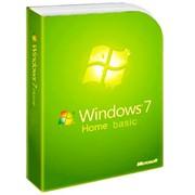 Операционная система Microsoft Windows 7 Home Basic фото