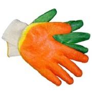 Перчатки трикотажные с 2-м латексным покрытием фото