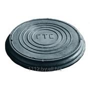 Люк телефонный тяжелый / Люк для кабельных колодцев телефонной канализации ГТС - Тип Т. фото