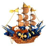 Корабль из конфет Бриз фото