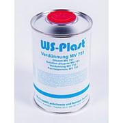 Растворитель WS-Plast MV 751, 1л фото