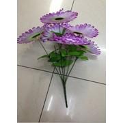 Цветы искусственные 6 цветков подсолнечника 0238A-7 фото