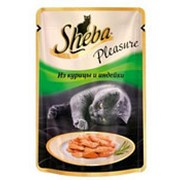 Корм для кошек SHEBA Pleasure из Курицы и Индейки, 85г фото