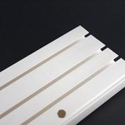 Карниз потолочный трехрядный из пвх фото