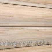 Виниловый сайдинг текос оцилиндрованный брус двойной цвет светлая сосна 3,66 см х 23 см фото