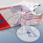 Диаграмные диски для тахографов (Тахограммы) MotoMeter фото