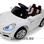 Детский электромобиль Porshe E001EE белый с дистанционным управлением фото