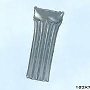 Матрац надувной для плавания серебристый 59725 фото