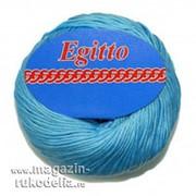 Пряжа Egitto (голубой) фото