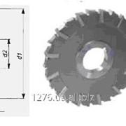 Фрезы дисковые трехсторонние с разнонаправленными зубьями для обработки пазов и уступов в деталях из конструкционных сталей и чугунов ГОСТ 28527 фото