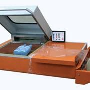 Машина термоупаковочная для упаковки в ПВХ (PVC) и полиолефиновую пленку полурукав (увеличенная термокамера) МИНИ-ПАК 3 фото