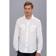 Мужская рубашка Buffalo David Bitton Sipoven Basic Cotton L/S Woven фото