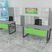 Офисный стол с вырезом фото