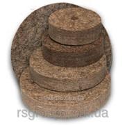 Круг войлочный полировальный 175х25х32 ( мягкий ) фото