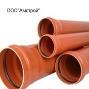 Труба канализационная d110 L=1000, наружняя фото