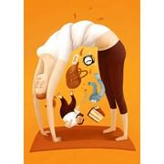 Офисная йога фото