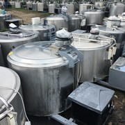 Охладитель молока Б/У ALFA LAVAL на 200 литров открытого типа / Охолоджувач молока фото