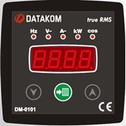 DATAKOM DM-0101 Мультиметр, 1 фаза, 72x72mm фото
