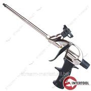 Пистолет для пены с тефлоновым покрытием держателя баллона Intertool PT-0604 4 нас. №460995 фото